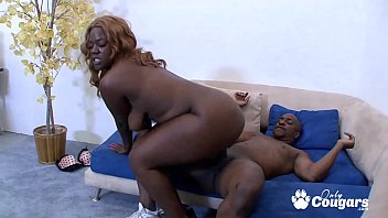 BBW Has Her Big Chocolate Ass Pounded