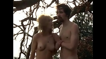 Couple man and woman was robbed naked and thrown out of the car in the forest by a robber. ENF. Stolen clothes