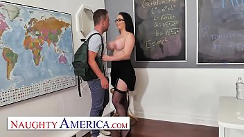 Naughty America - Brooke Beretta is horny and wet for her student