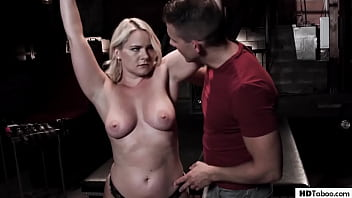 Lonely Stepmother Lisey Sweet Has To Enjoy StepSon's BDSM Fantasy