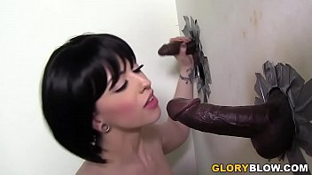 Love glory hole Busty larkin love fucks bbc - gloryole