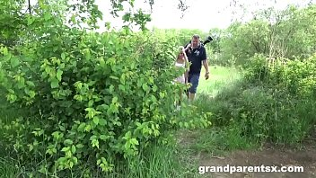 Old Couple Fuck Perfect Teen After Playing Golf