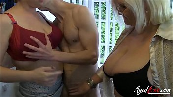 Classy busty granny Agedlove lacey starr eva and marcus threesome