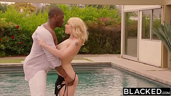 BLACKED Curvy Blonde Cheats on Boyfriend With BBC