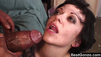 Hot emo girl blowjob - Goth babe wants in on his huge black cock
