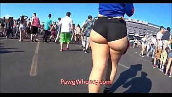 Susan g komen breast cancer walk Thick pawg walking in shorts