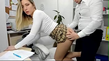 edging personal assistant is busy with office duties