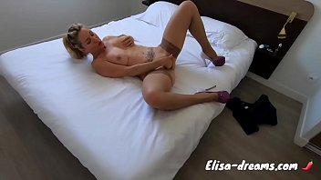 Getting fucked by a BBC in front of my Cuckold