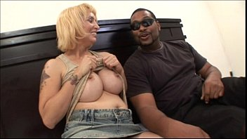 Sexy Milf with a black  male