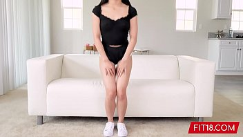 FIT18 - Jasmine Grey - Casting 4 foot 9 Asian Girl - 60FPS