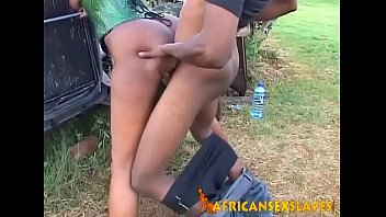 Sex with african slave Hard sex with her master makes obedient african girl scream in orgasm