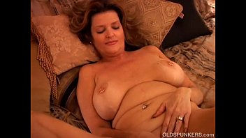 Naughty MILF plays with her pussy and blows the cameraman Preview