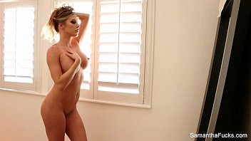 Sexy samantha harris - Samantha saint does a sexy solo