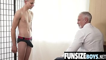 Gay dallas member Hung mature silver daddy destroys tiny twink ass-funsizeboys.net