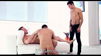 Stories about college gay room Hd - gayroom cute guy joins his roommates for a threesome