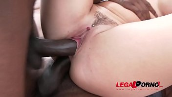 Blanche Bradburry interracial double anal with four monster cocks Preview