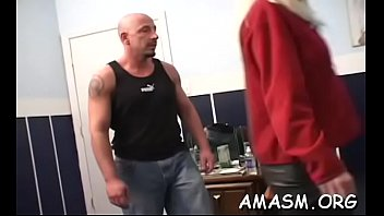 Busty delights with smothering fellow previous ...