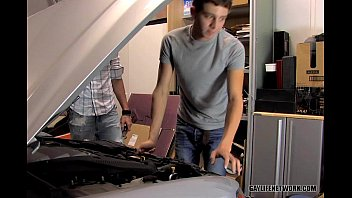 Gay and lebian aids video Levon helps gabriel with his tool