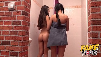 Fake Hostel Halloween special with hot young Latinas