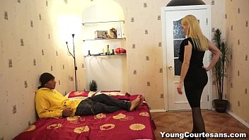 Young Courtesans - Interracial courtesan Nataliya fucking