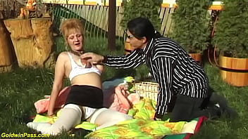 hairy mom extreme rough outdoor fucked