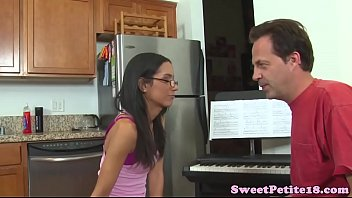 Amateur teen fucks her piano teacher