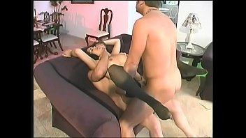 Brunette MILF Olivia O'Lovely with amazing ass gets double penetrated by two hard cocks thumbnail