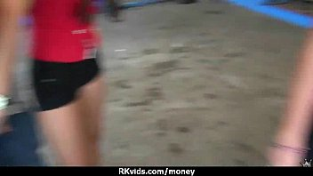Stunning Euro Teen Gets Talked In To Giving A Blowjob For Cash 24