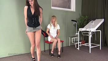 Caprices spanking by Mrs. Doctor.