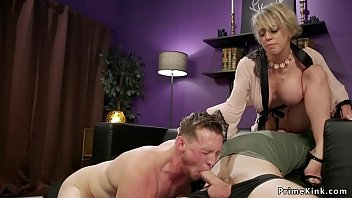 Sharon mitchell fist Huge tits milf makes husband suck dick
