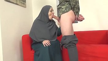 an old arab woman fucks a young man