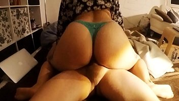 Panty porn booty bounce Sniffy panties perfect big ass girl fucking with panties on amateur