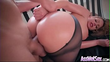 Excess facial oil Brooklyn chase big butt oiled girl love deep hard anal sex clip-12