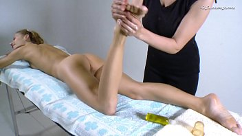 Lika Volosatik super hot Russian virgin pussy massaged
