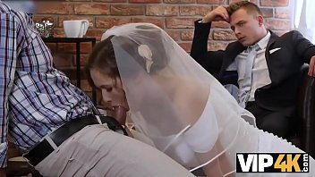 VIP4K. A rich man pays well to fuck a hot young girl on her wedding day