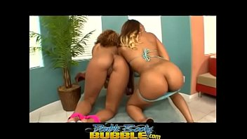 Black milf and young thot dicked down