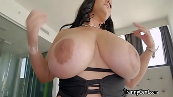 Bbw shemale slutload - Bbw enjoy shemale cock in her pussy