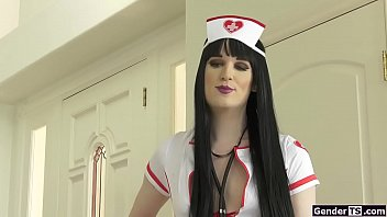 Shemale nurse uniforms Ts erica cherry analed in nurse uniform