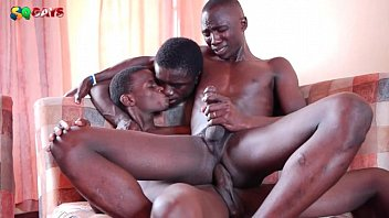 Hardcore gay black Black african awesome threesome