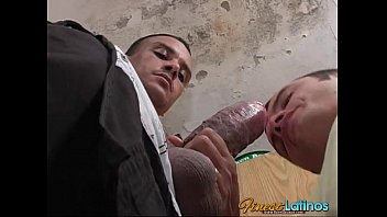 Big fat gay cock - Handyman big thick cock plugged in a tight ass