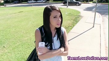 Teen Paid To Fuck Outside