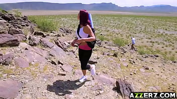 MILF Monique Alexander got fucked in the desert