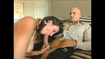 Busty brunette Ava Ramon and blond Brooke Hunter get their round ass pounded doggystyle in foursome by two big cocks