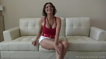 Dirty MILF fucks and spreads her creamy pussy thumbnail
