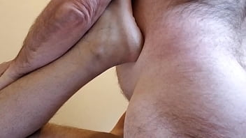 49 twink warrior Daddy fucking bareback and cumming in ass