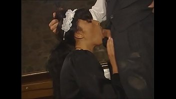 House maid and boss get fucked