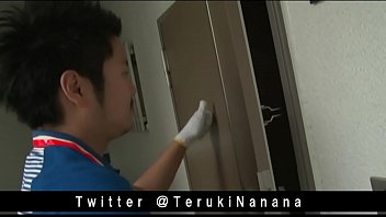 Japanese delivery man fuck