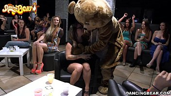 The Dancing Bear Makes Those Panties Wet!!