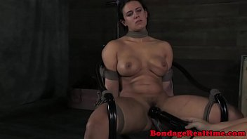 BDSM Penny Barber tormented with water
