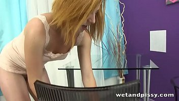 Ritta Red Pee Play In Front Of Camera